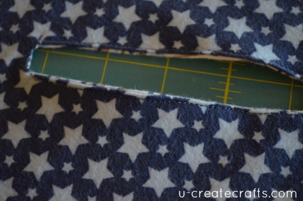 Baby Blanket Tutorial 3