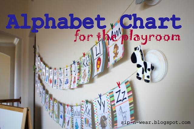54 alphabet chart