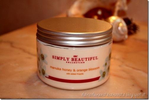 SBC manuka honey&orange blossom body butter