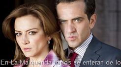 En La Malquerida todos se enteran de lo que le pasó a Daniel, Isadora asegura que ahora la única dueña será Camila, pero ella pide que si la herencia no pasó a manos de Daniel, pase a su esposa y su hijo.