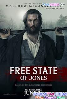 Tuyên Ngôn Của Tự Do - Free State of Jones Tập HD 1080p Full