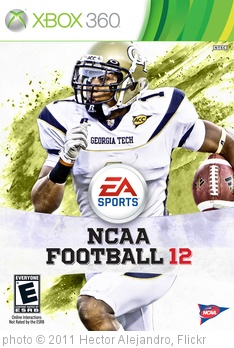 'Isaiah Johnson NCAA Football 12 Cover Art' photo (c) 2011, Hector Alejandro - license: http://creativecommons.org/licenses/by/2.0/