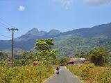 A view of Bulusaraung on the way to Tondongkarambu (Dan Quinn, October 2013)