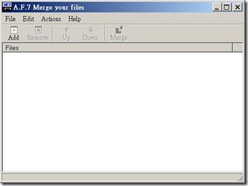 [win7可用]合併文字檔最好用的工具(merge file)