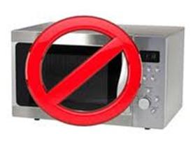 No Microwave