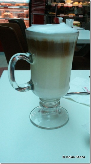 Secret Recipe Review caffe latte