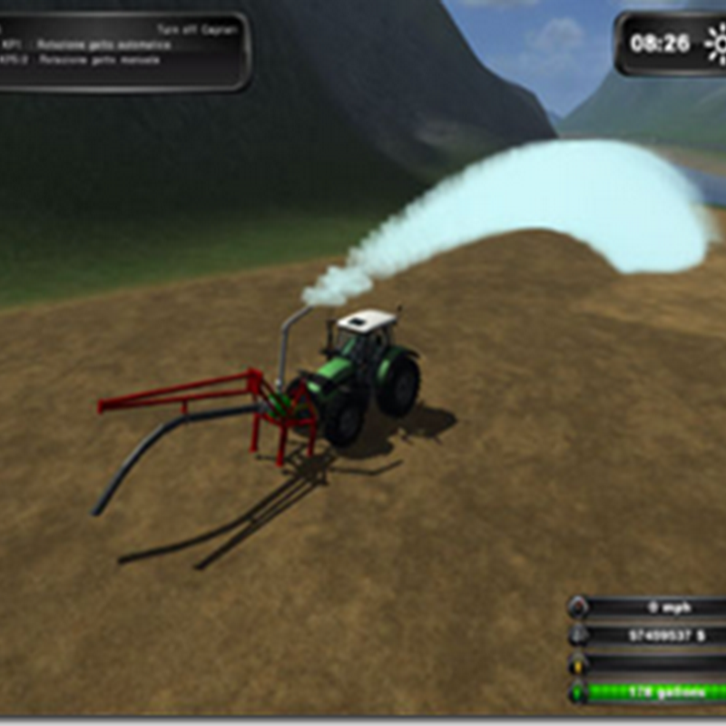 Farming simulator 2011– Pompa Caprari (irrigatore)