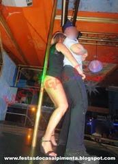 Stripper Rafael Azeredo e Sra Vodka ou Água de Coco
