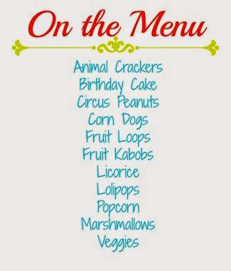 One the menu