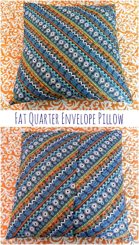 Fat Quarter Envelope Pillow