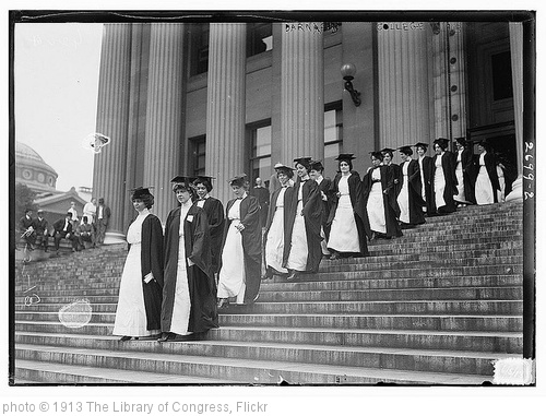 'Barnard College, 1913 (LOC)' photo (c) 1913, The Library of Congress - license: http://www.flickr.com/commons/usage/