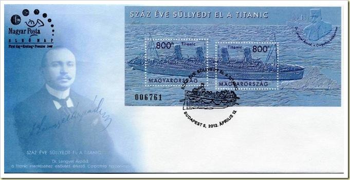 Titanic FDC