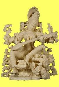 a-saraswati-statue