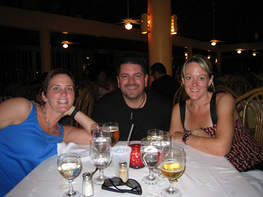 First dinner - Punta Cana 2009