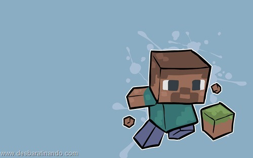 wallpapers minecraft 8 bit pixelados desbaratinando  (15)