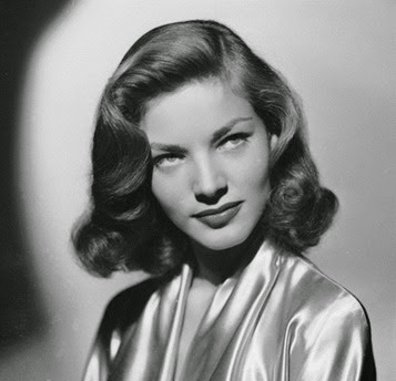 Lauren Bacall's simple 1940's hair style - Pin Curls 101 | Lavender & Twill