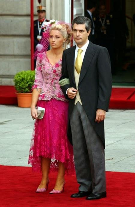 Adolfo Suárez Illana llegó del brazo de su esposa