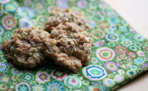 butterscotch oatmeal cookies 2