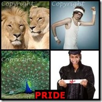 PRIDE- 4 Pics 1 Word Answers 3 Letters