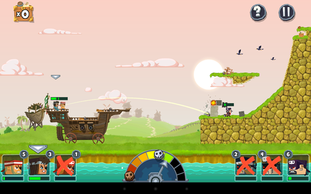 Pirate Bash para iOS y Android