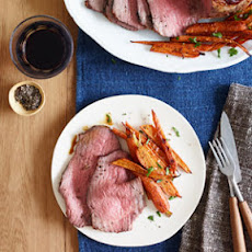 Roast Beef With Balsamic Glazed Carrots