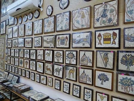 Suveniruri Iordania: Mozaicuri