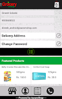 Screenshot of AaramShop