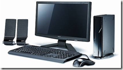 Photo of desktop computer 