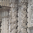 Very detailed decorated pillars, Cuzco