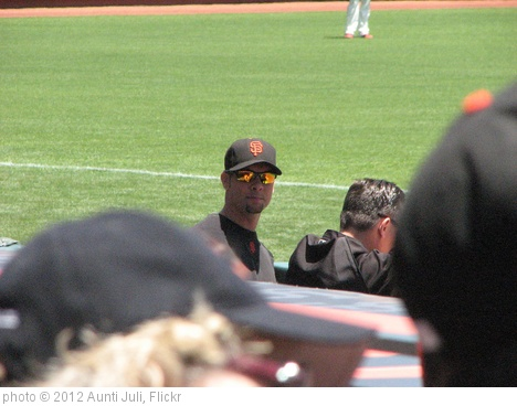 'Ryan Vogelsong in the dugout' photo (c) 2012, Aunti Juli - license: http://creativecommons.org/licenses/by/2.0/