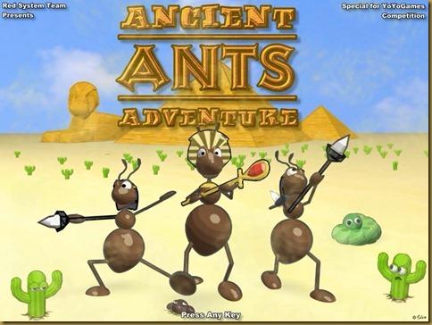 Ancient Ants Adventure タイトル