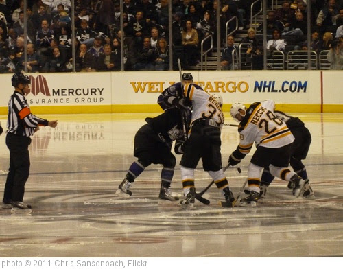 'Kings vs. Bruins 006' photo (c) 2011, Chris Sansenbach - license: https://creativecommons.org/licenses/by-nd/2.0/