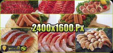 Imagens de Alimentos Alta Resolução mostra