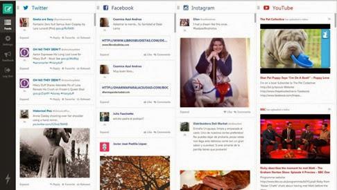 Feedient, actualiza y publica en todas tus redes sociales
