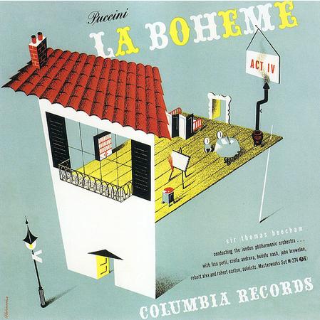 Sir Thomas Beecham – Puccini; La Boheme (1942).jpg
