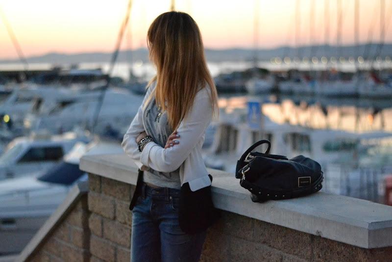 Primark, Shopping, Primark Shoes, Givenchy Bag, Givenchy Bugatti Bag, Cross Necklace, Sky Line, Chanel Nailpolish, Chanel Sky Line, True Religion Jeans, True Religion, Fashion Blogger, Italian Fashion Bloggers, Boyfriend Jeans, Primark Tshirt