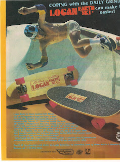Bob promoting his new model in a ad with Logan Park Rider 5 wheels
