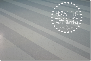 HOW TO install vct flooring