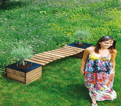 banc de jardin