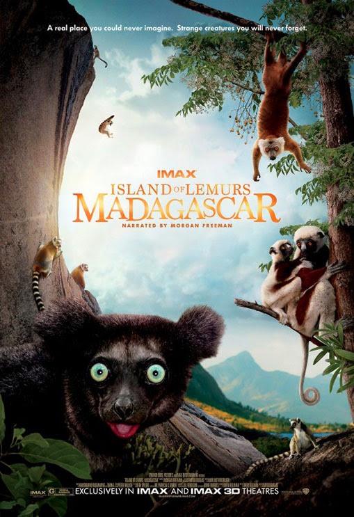 Island of Lemurs Madagascar poszter és trailer, a narrátor Morgan Freeman