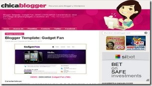 top 20 free blogger templates sites 19 Chicablogger