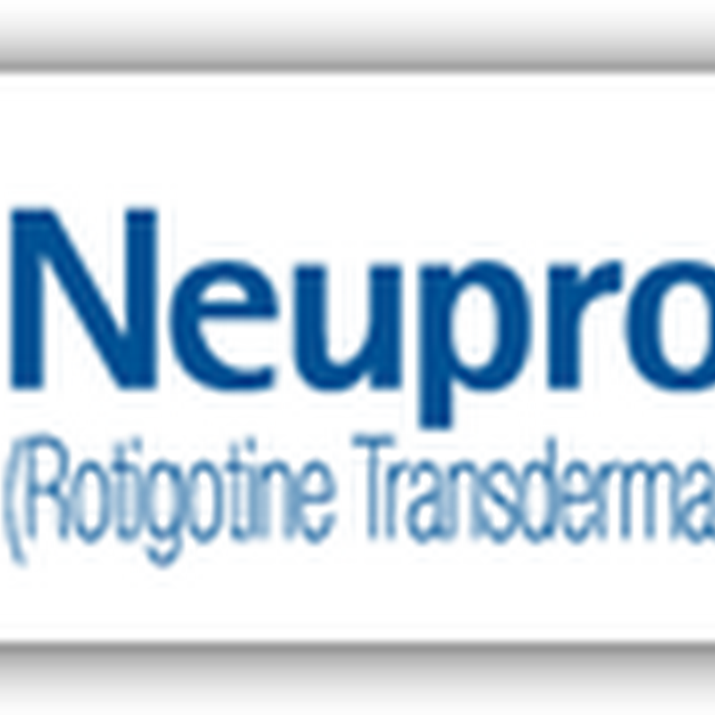 Neupro Patch Gets FDA Approval for Advanced Stage Idiopathic Parkinson's Disease and Restless Leg Syndrome