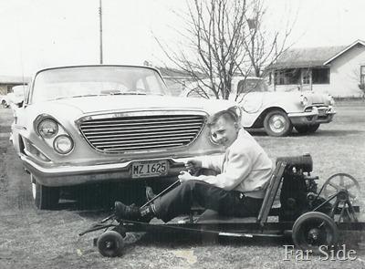 Gene Go Cart 1961