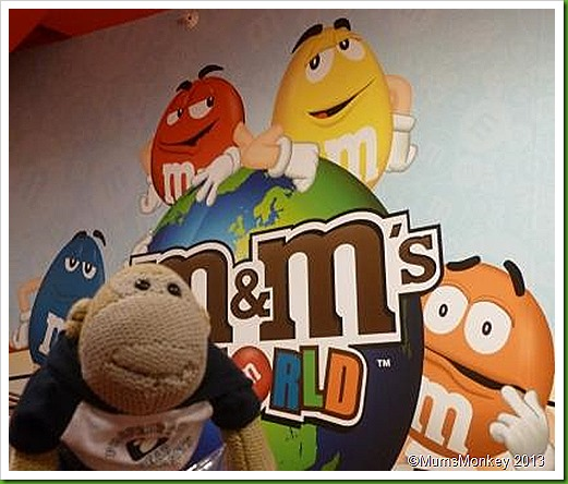 M & M's world London.