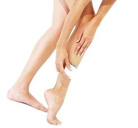 woman epilator hair removal