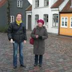Christelle et Maryline .<br /><br /><br /><br />  derrière elles, Fyns Grafiske<br /><br /><br /><br />  Vaerksted