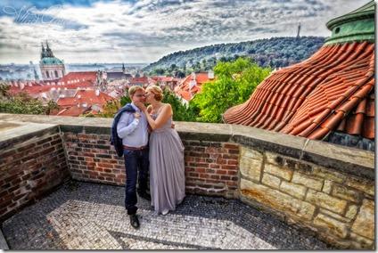 Фотографии со свадьбы в Праге - фотограф Владислав Гаус