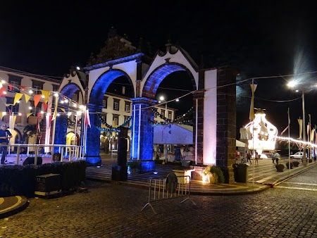 43. Ponta Delgada by night.JPG