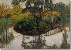 Bauerngarten mit Insel, 1911