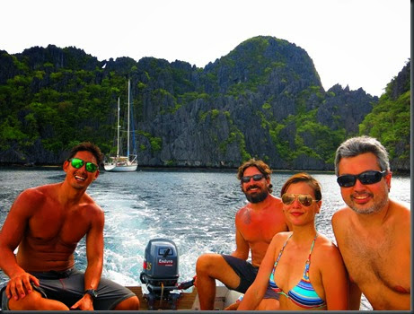 sailing around the world el nido phillippines